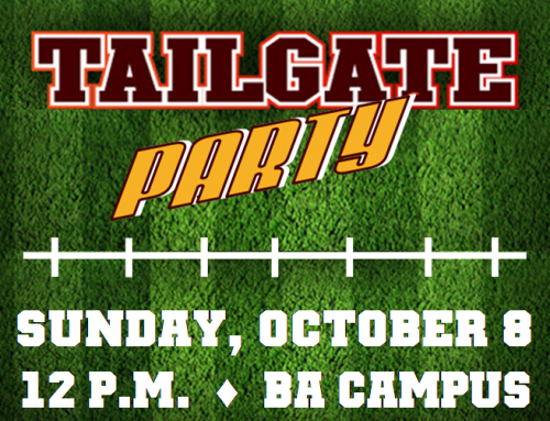 Tailgate Party October 8 at Broken Arrow Campus