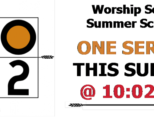 Summer Worship Schedule at Cedar Ridge Coweta