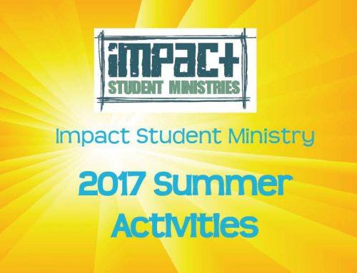 Student Summer Activities