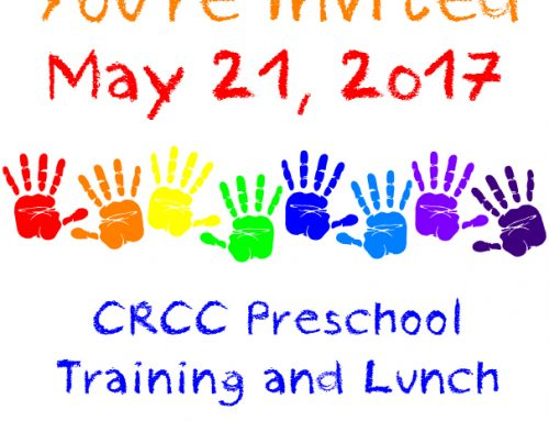 Preschool Training and Lunch {May 21, 2017}
