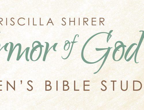 Ladies Bible Study Begins August 3