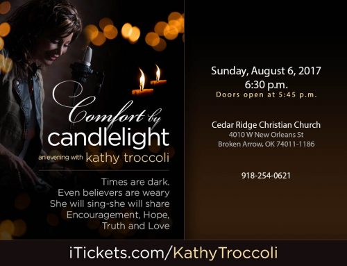 Comfort by Candlelight, An Evening with Kathy Troccoli