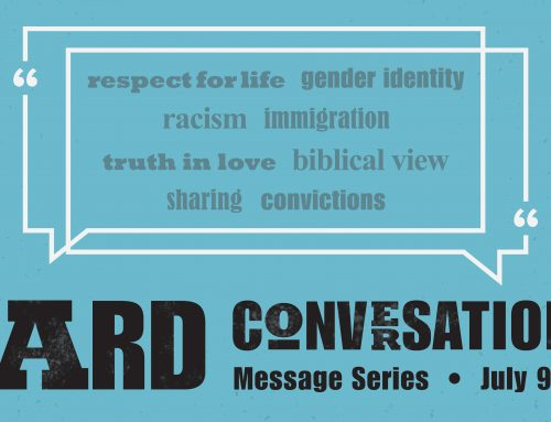 Current Message Series July 9-30
