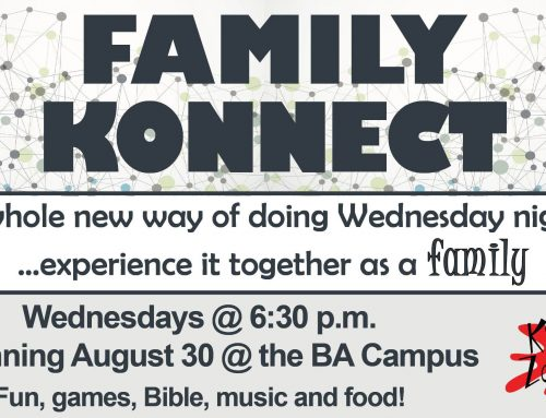 Family Konnect Coming Wednesdays This Fall