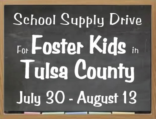 School Supply Drive for Foster Kids