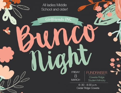 Girlfriends, INC Bunco – Coweta Campus