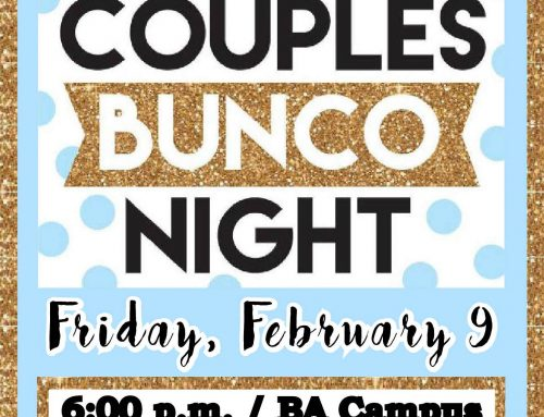 Couples Bunco – February 9