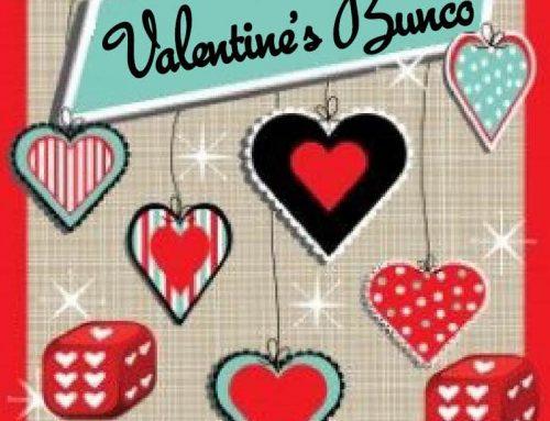 Valentine's Bunco Party – Sapulpa Campus
