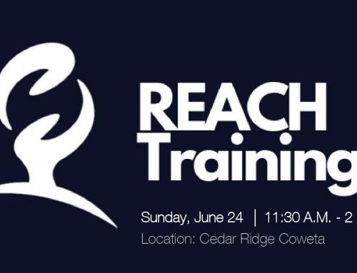 REACH Training – Cedar Ridge Coweta