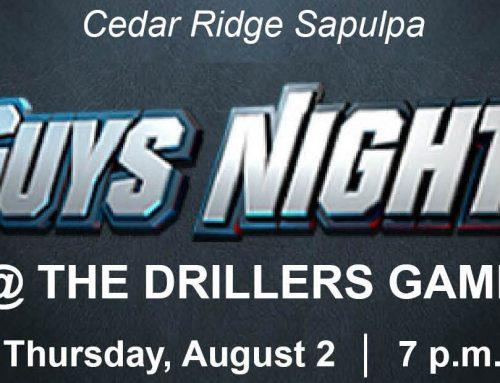 Guys Night – Cedar Ridge Sapulpa