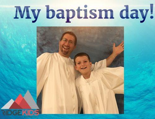 Baptism 101 at Cedar Ridge Sapulpa