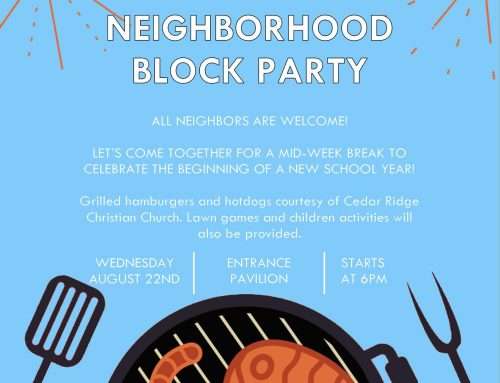 Hickory Addition Neighborhood Block Party – Sapulpa