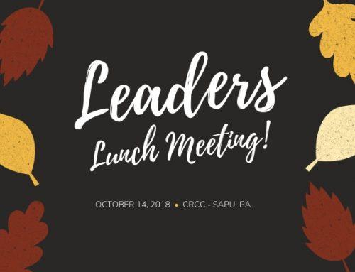 Leaders Lunch – Sapulpa