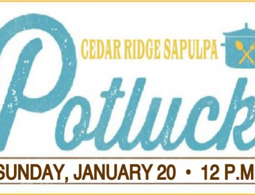 Church Potluck – Cedar Ridge Sapulpa