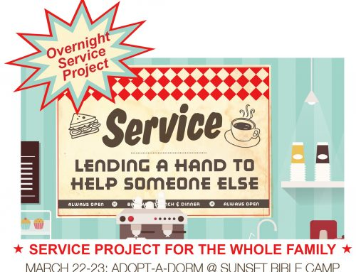 Family Overnight Service Project