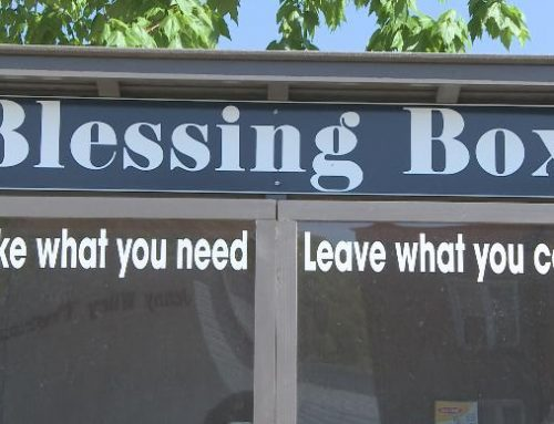 "Cedar Ridge Sapulpa Starting a ""Blessing Box"""