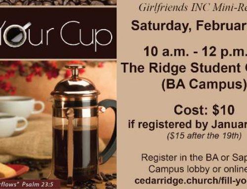 Fill Your Cup Mini Retreat