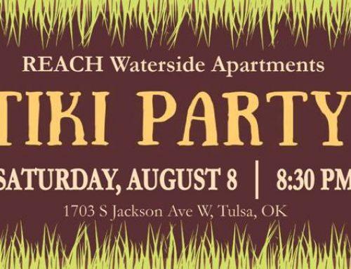 REACH Outreach – Waterside Apartments Tiki Party