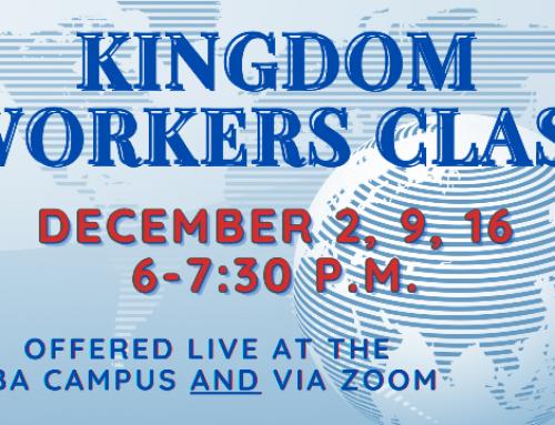 Kingdom Workers Class