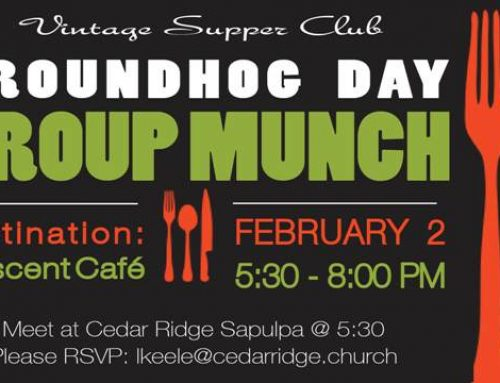 Vintage Supper Club – Groundhog Day Group Munch