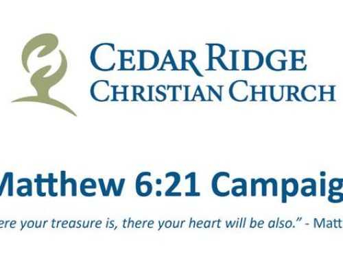 Matthew 6:21 Campaign