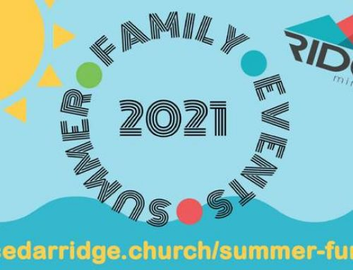 Summer 2021 Family Events