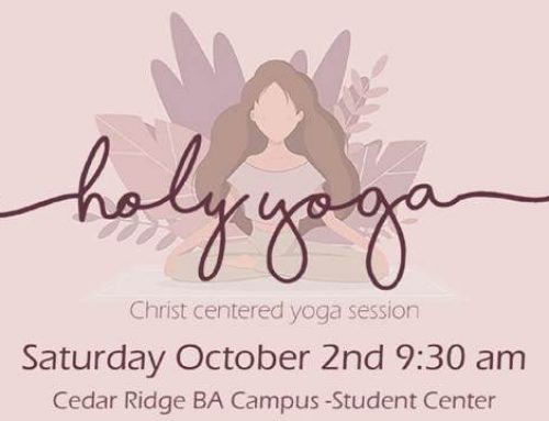 Women's Ministry Event: Holy Yoga – October 2
