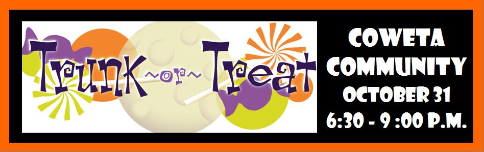 Trunk or treat - coweta