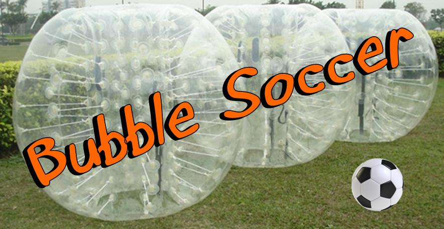 bubble soccer image