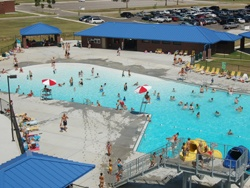 ... Broken Arrow (1400 North Main Street). Our first Serve 'N Swim is