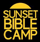 sunset logo-yellow on black